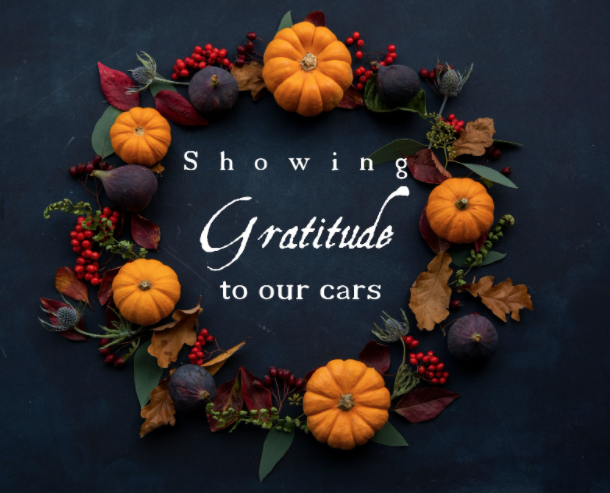 Showing Gratitude To Our Cars