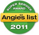 Angies List Award 2011
