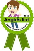 Angies List Award 2012